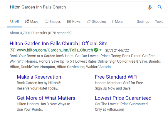 Add Google Ad extensions