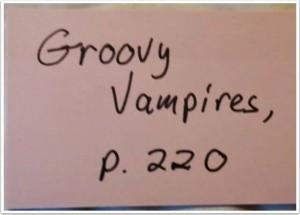 groovy vampires