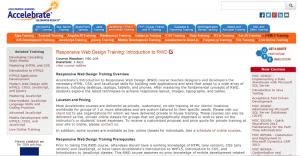 Desktop Web Page