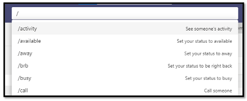 Save time by using the Search Bar as a Command Line.