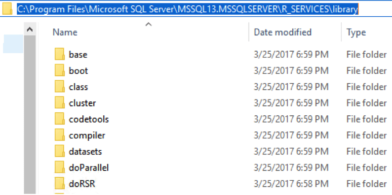 How to add new R packages to your SQL Server R Server