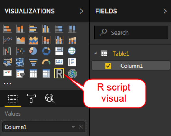 r script visual