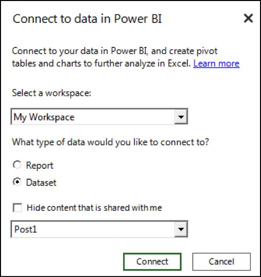 How Do You Share Data Among Excel, Power BI Desktop, and
