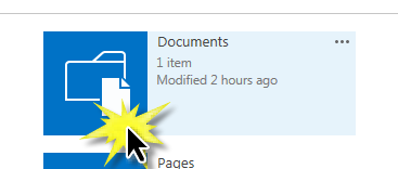 Select Site Documents App