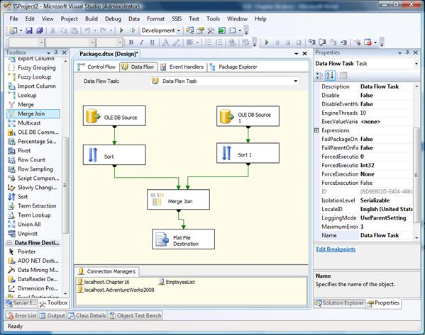 Ssis 2008 packages tutorial.