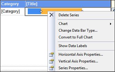 Figure 7: Data Series Menu