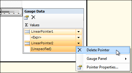 Figure 22: Delete Pointer Option