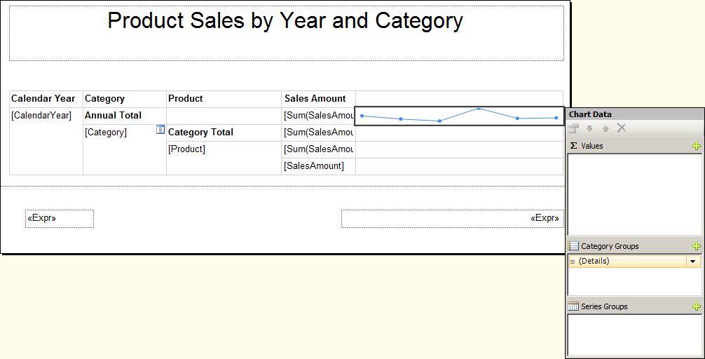 Figure 65: Chart Data Window