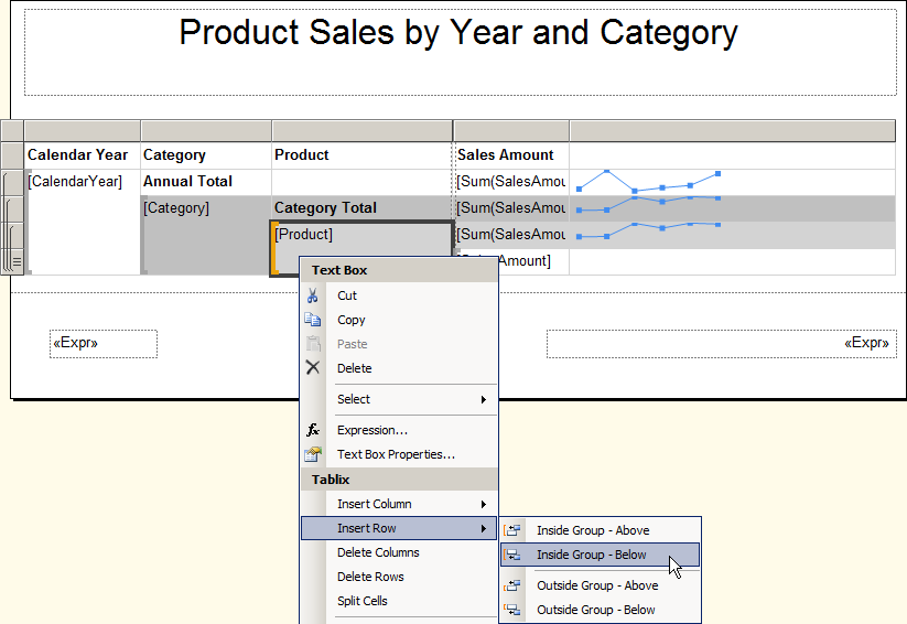 SSRS 2012 Enhanced Report Items Tutorial