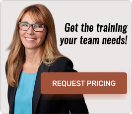 Get the training your team needs! Request pricing.