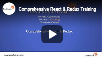 Comprehensive React & Redux Training Overview