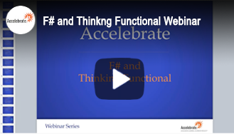 Webinar - F# and Functional Thinking