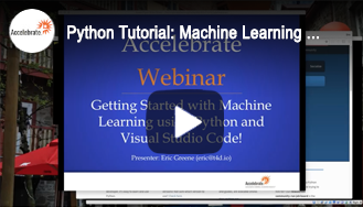Python Tutorial: Getting Started with Machine Learning using Python and Visual Studio Code