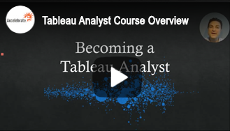 Tableau Analyst Course Overview