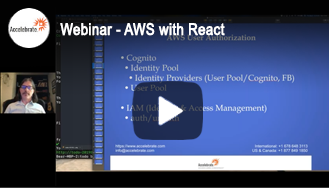 Webinar - AWS with React Webinar