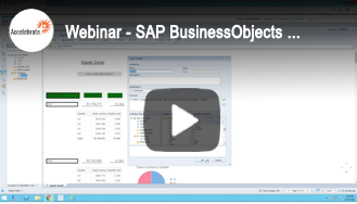 Webinar - SAP BusinessObjects Web Intelligence