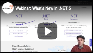 Webinar - What's New in .NET 5 and C#9